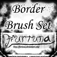 Border Brush Set by Furtuna