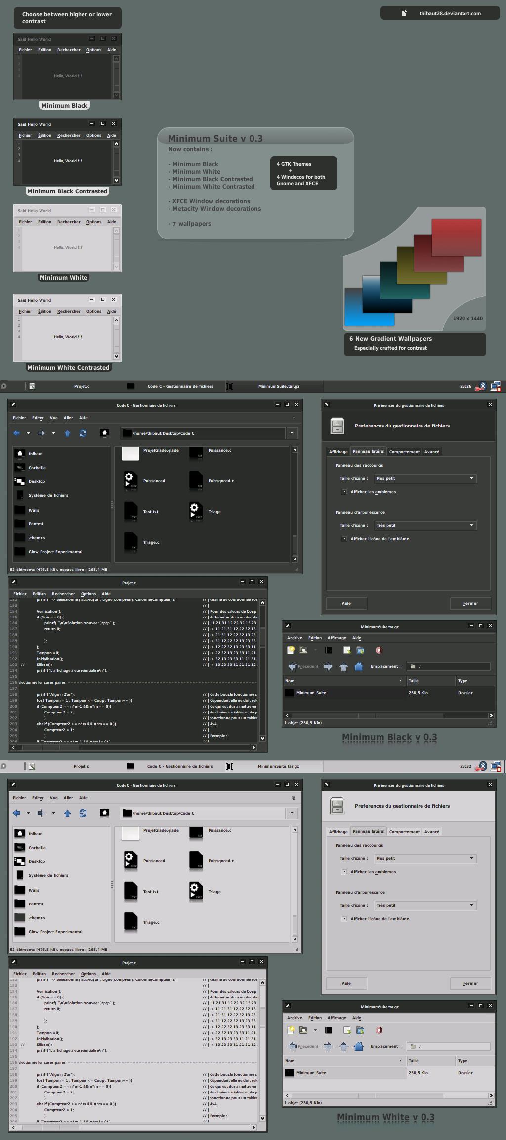 Minimum. Suite v 0.3 by thibaut28