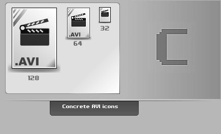 Concrete.AVI.Icons by thibaut28