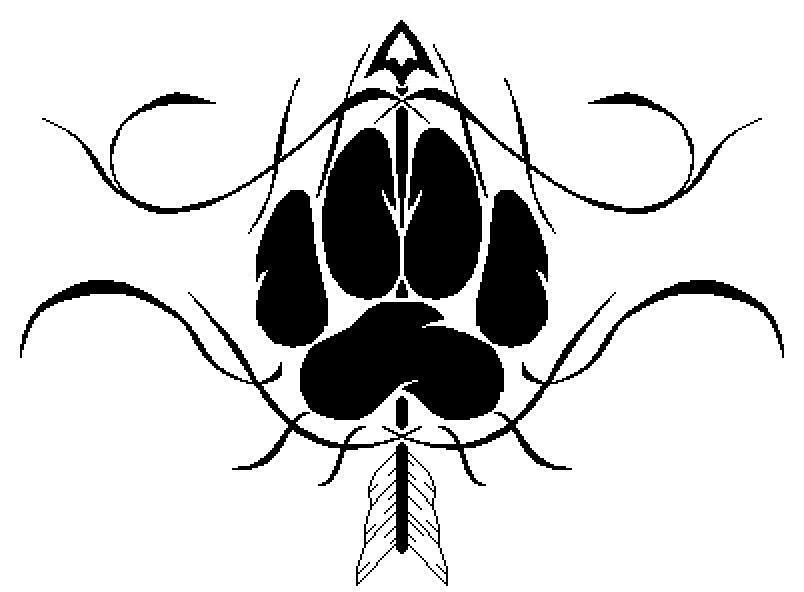 Wolf Paw Tattoo by ~TalentWasted on deviantART