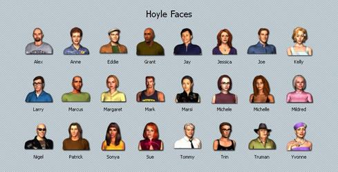 Hoyle Faces
