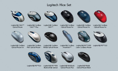 Hardware Set - Logitech Mice