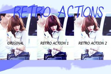 O1 | Retro Actions | Porcelain by ItsPorcelain