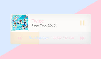 Pastel | MP3 | Template by Porcelain by ItsPorcelain
