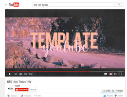YOUTUBE template | PSD | Porcelain by ItsPorcelain