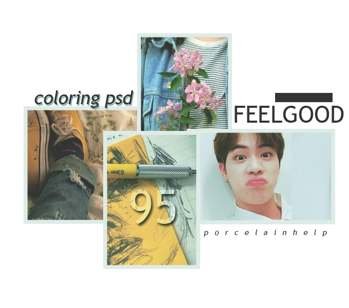 95 COLORING feel good PSD PORCELAIN by ItsPorcelain