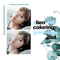 O100 PSD ALIEN COLORING BY PORCELAIN by ItsPorcelain