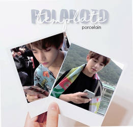 polaroid psd template by porcelain by ItsPorcelain