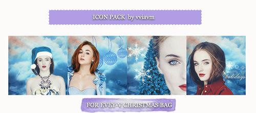 Icon Pack by vviavm for Evey-V Christmas Bag by vviavm
