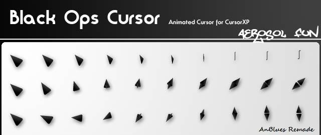 Black Ops Cursor Pack