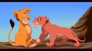 Two Brats One Pride Rock by MalisTLK