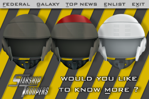 Starship Troopers Helmets by BioHaZaRDiNC