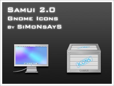 Samui 2.0 Gnome Icon Set by BioHaZaRDiNC