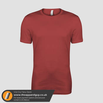 SLIM Mens Tee Template by TheApparelGuy