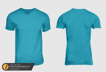 American Round Neck PSD by TheApparelGuy