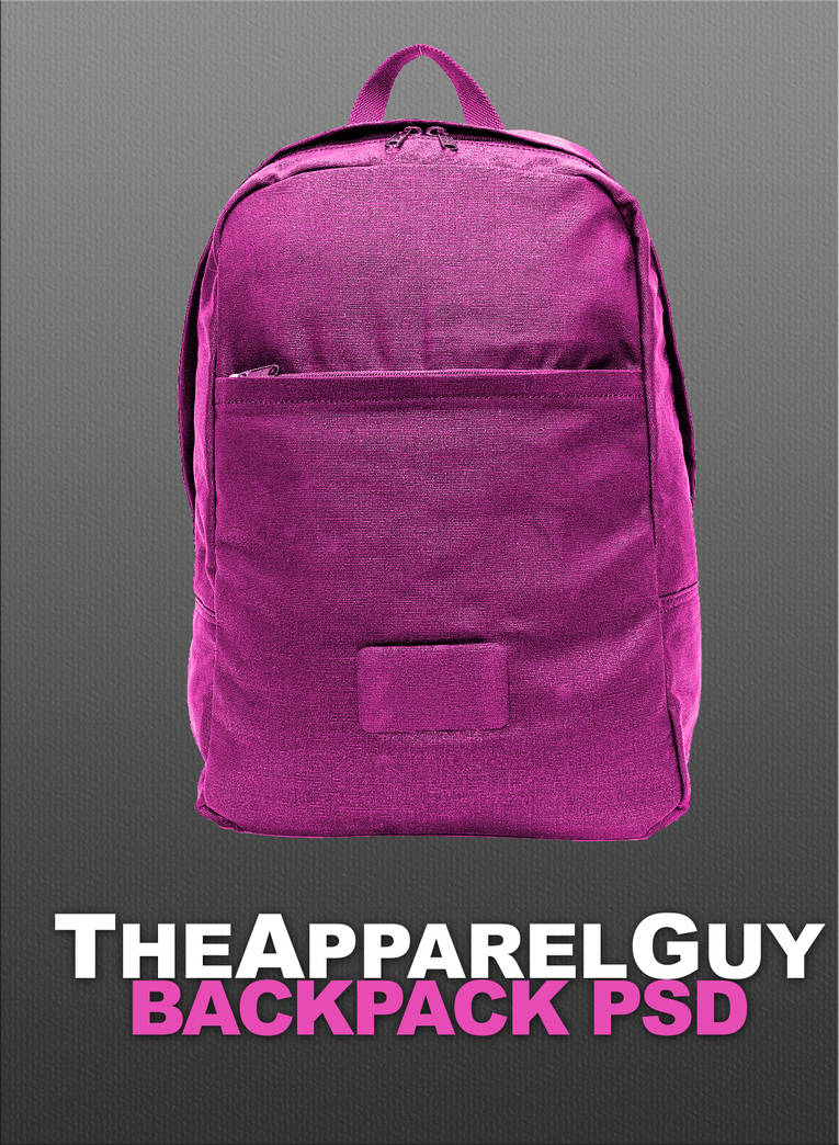 Backpack PSD by TheApparelGuy