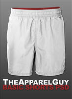 Basic Shorts PSD by TheApparelGuy