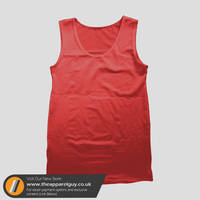 Men's Vest Template PSD by TheApparelGuy