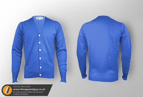 Cardigan Template PSD by TheApparelGuy