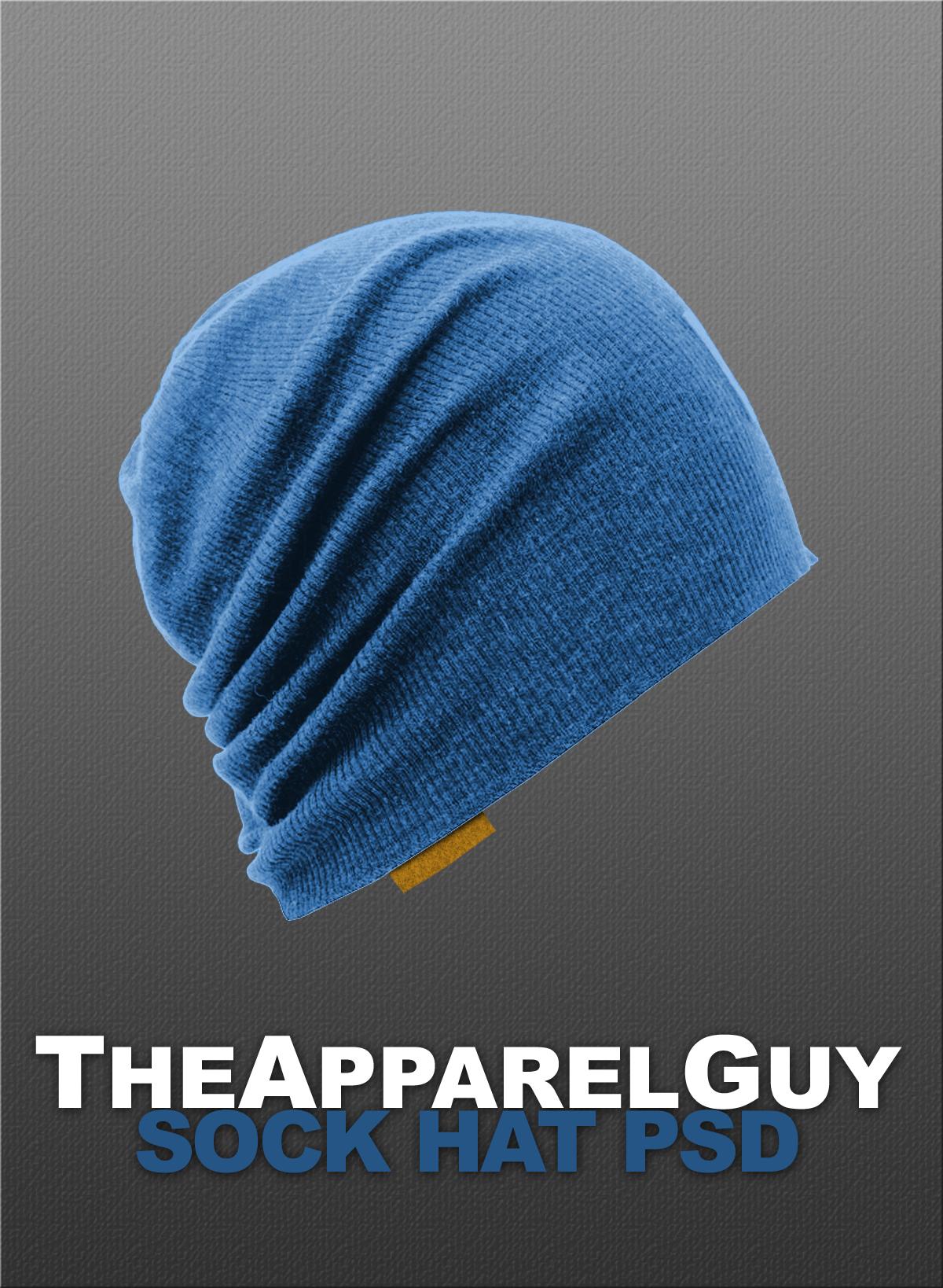 Sock Hat PSD