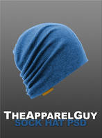 Sock Hat PSD by TheApparelGuy