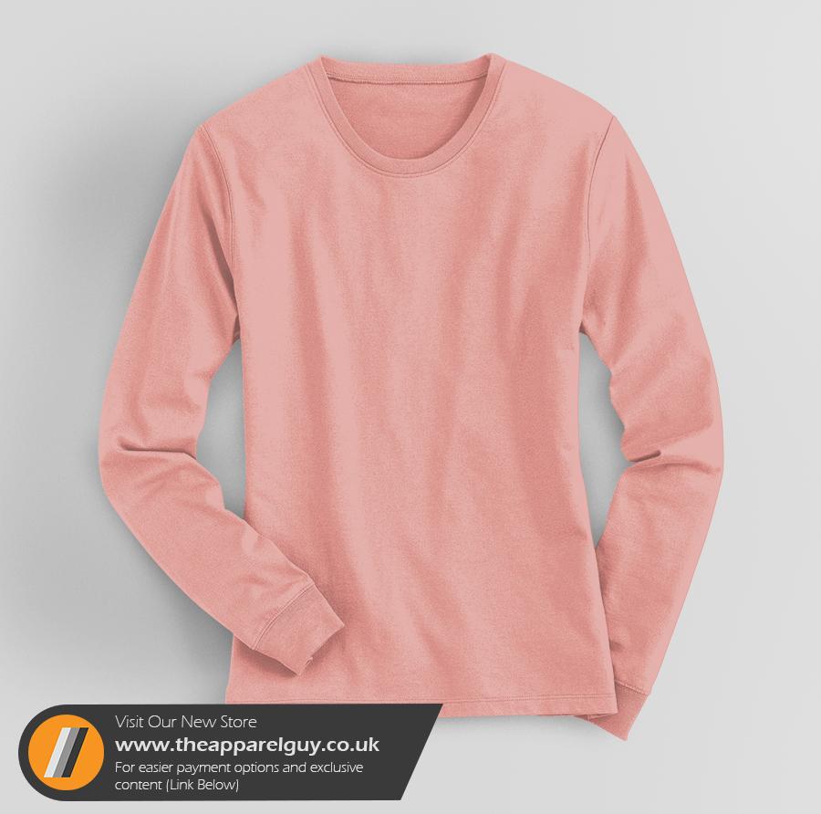 Women's Long Sleeved Tee PSD