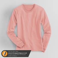 Women's Long Sleeved Tee PSD by TheApparelGuy