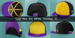 New Era 59 Fifty Template