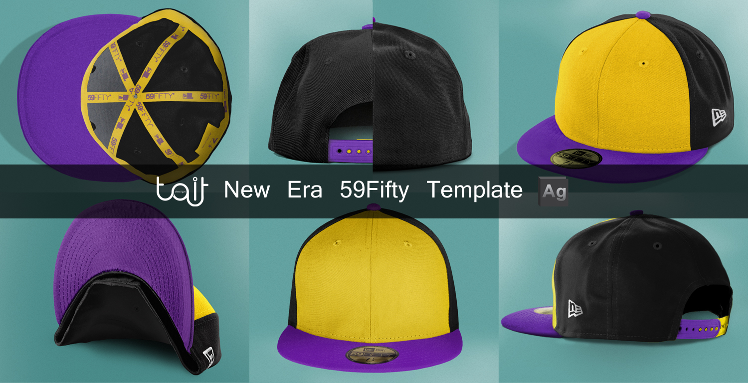 e9c2759ad95 New Era 59 Fifty Template by TheApparelGuy on DeviantArt