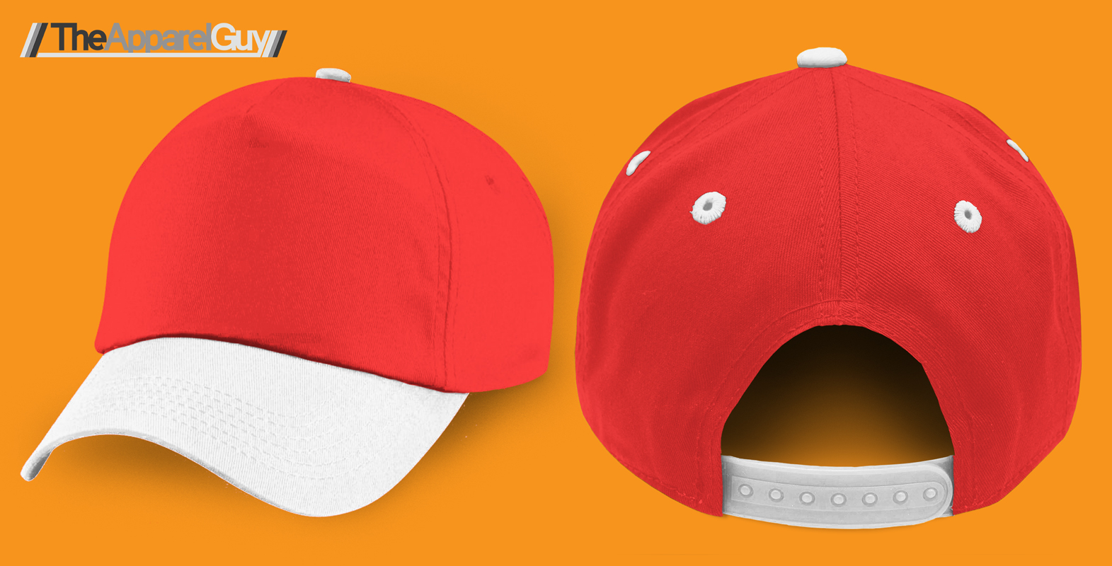 New Baseball Cap Template by TheApparelGuy
