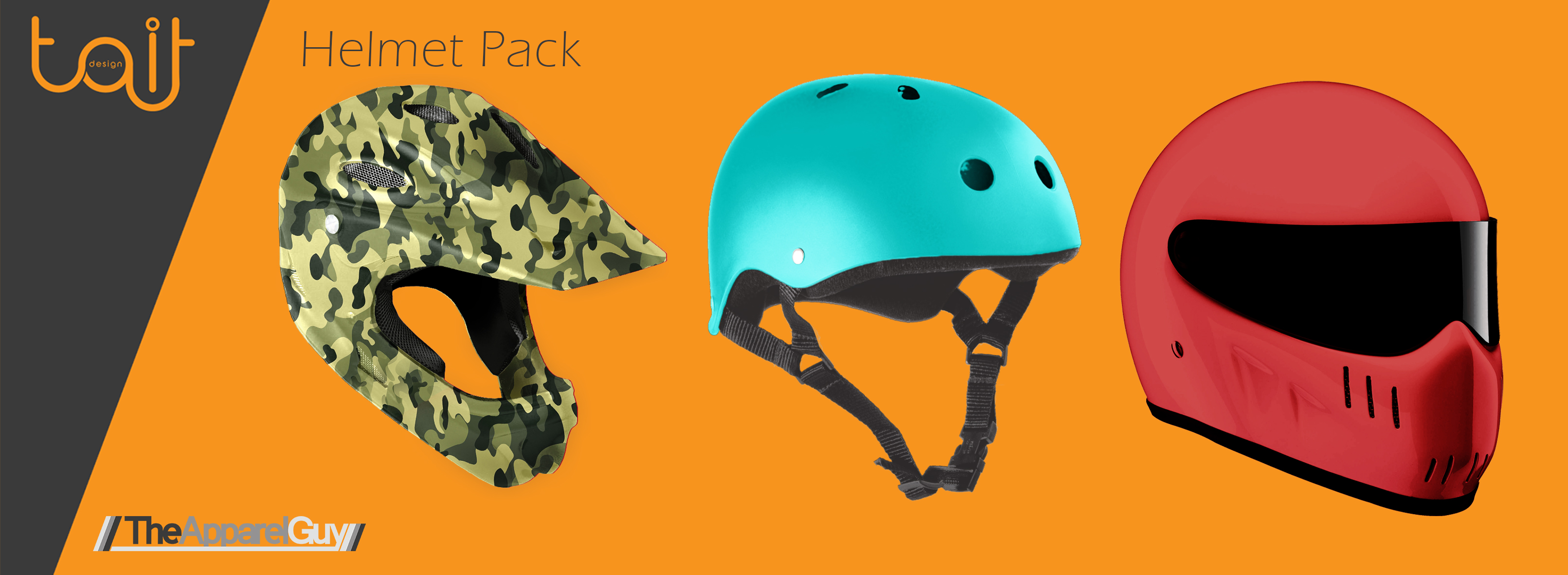 Helmet Pack by TheApparelGuy