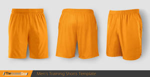 Training Shorts Template