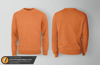 Cotton Sweater Mock Up