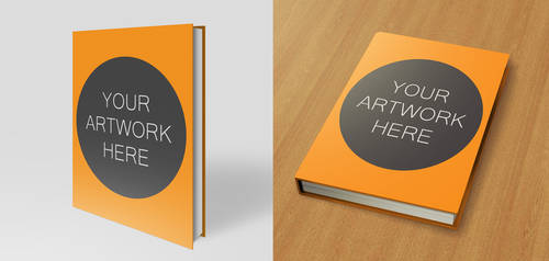 Hardback Book Mock Up Pack 8.5x11
