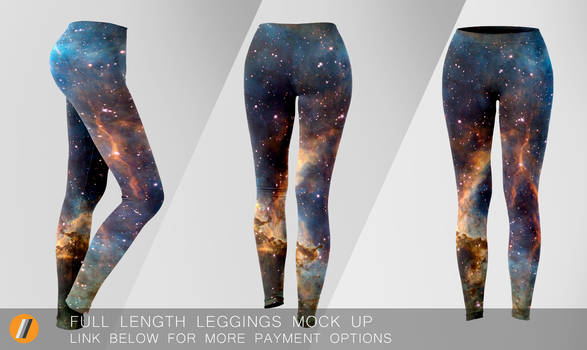 Full length Leggings Mock Up