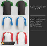 Men's Raglan Tee Pack