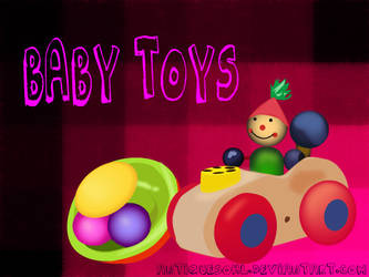 Baby toys Vector by antiquesohl