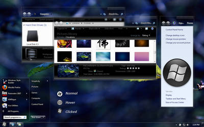 Halcyon for Win7 by jasonito