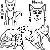 wolf Icon Line Art