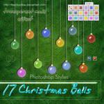 Transparent Christmas Balls by flashtuchka