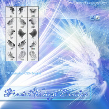 Fractal Wings by flashtuchka
