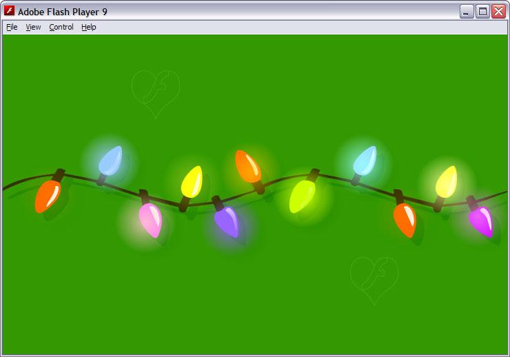 Christmas Lights Garland FLA by flashtuchka on DeviantArt