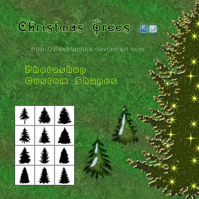 Christmas Trees by flashtuchka
