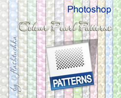 Seamless Pearl Patterns by flashtuchka