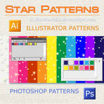 Illustrator Star Patterns