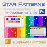 Photoshop Star Patterns