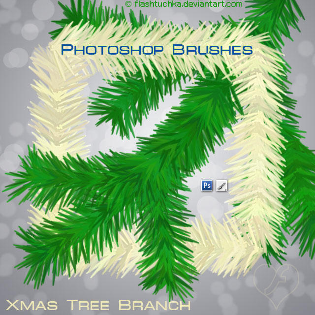 Christmas Tree Branches by flashtuchka