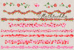 Pink Hearts Valentine Dividers