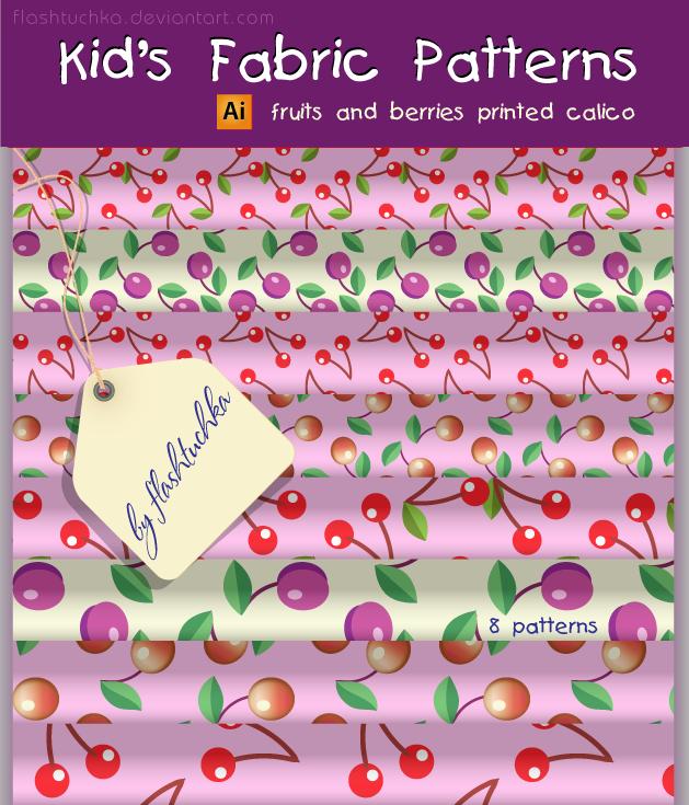 Kid's Fabric Patterns by flashtuchka