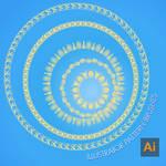 Adobe iLLustrator Pattern Brushes